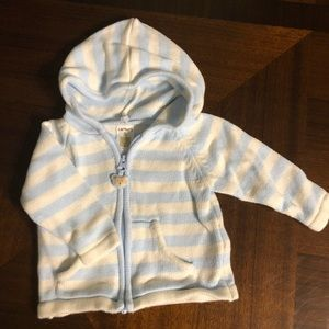 Carter's Shirts & Tops - 🍼 Carters  Sweet knit zip up hoodie